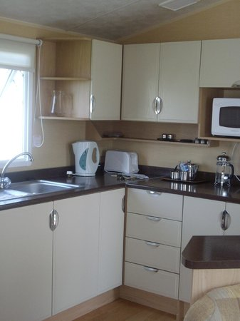 Holiday Resort Unity: kitchen off premier grand