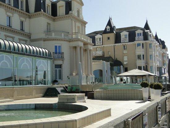 Résidence Neptunia : Vue du site hotelier, à partir de la terrasse