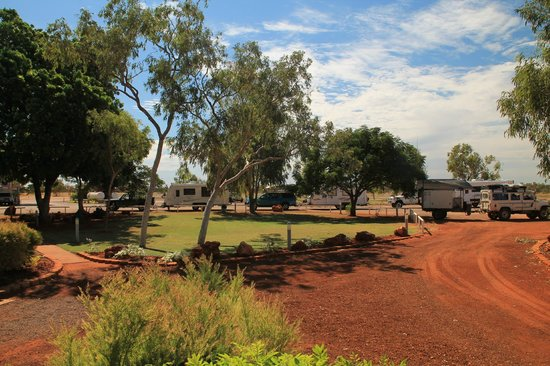 Barkly Homestead : Grey nomads and caravanners