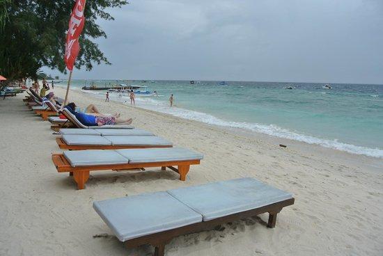 Good Heart Resort: beach