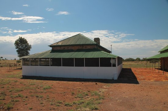 Tennant Creek, Avustralya: Accommodation building