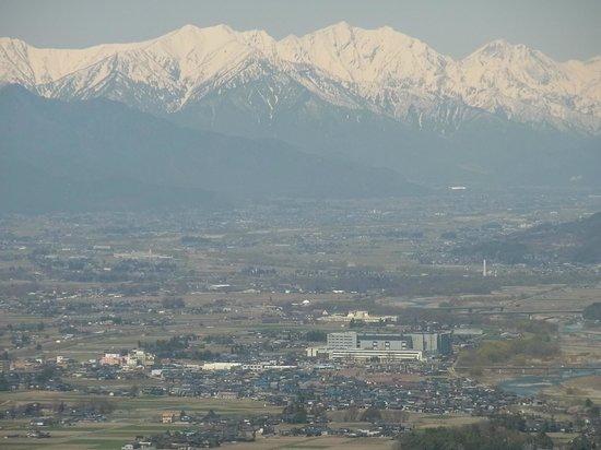 Matsumoto Alps Park : 松本市アルプス公園からの眺望
