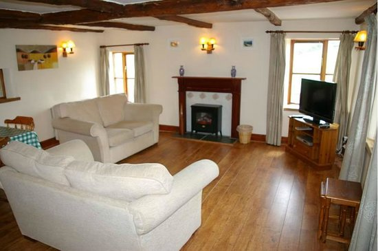 North Lee Farm Holiday Cottages: Kits Nest - Lounge