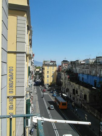 La Controra Hostel Naples: View from room (2)