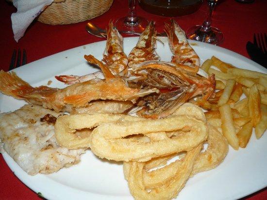 Fish Market: il piatto di grigliata e fritto di mare