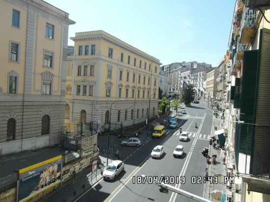 La Controra Hostel Naples: View from room (1)