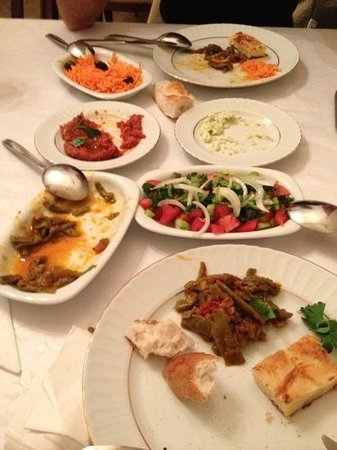 Old Greek House Restaurant and Hotel: starters