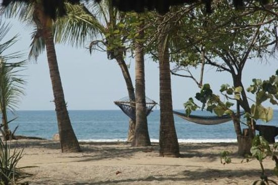 Casitas LazDivaz: Hammocks in front