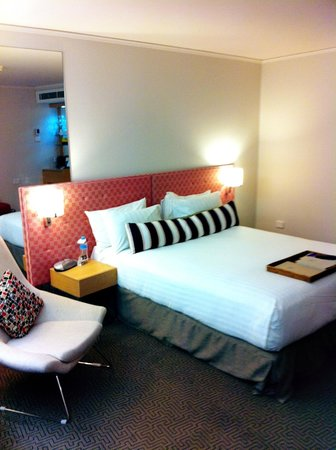 QT Canberra: Lovely room with a fresh look