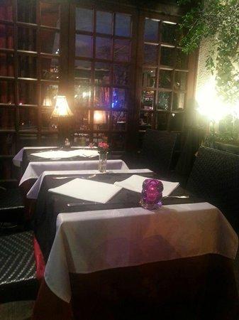 Restaurant  L'insolite : la terrasse