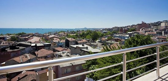 Art City Hotel Istanbul: View from Suite