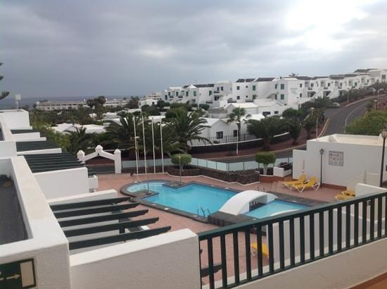 Apartamentos Villa Canaima: vista dal terrazzo