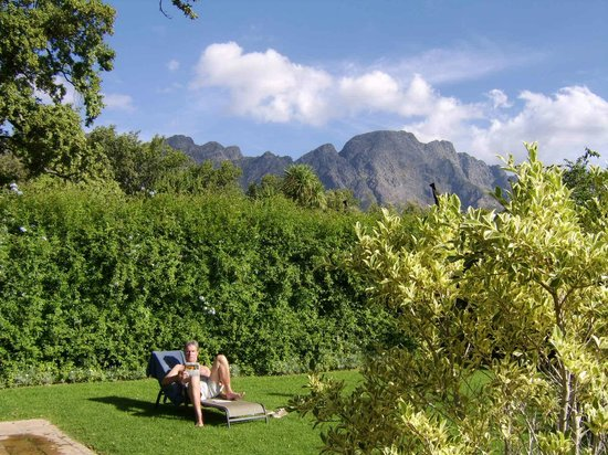 Wits End Mountain Chalets : what a view from pool