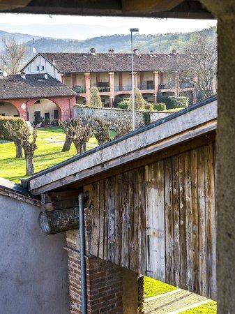 Santellone Resort: Vista da una delle camere al primo piano