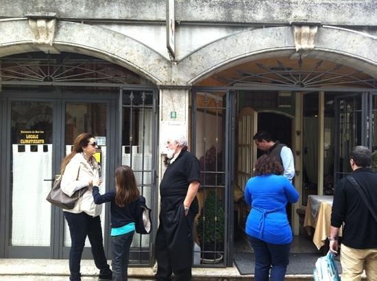 Tolfa, Italy: il ristorante