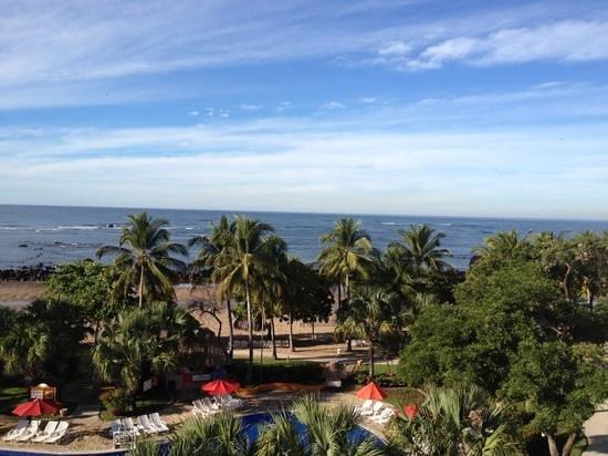 Royal Decameron Salinitas : Nov 30, 2012 - Vista desde el balcón de la habitación en el bloque 5!