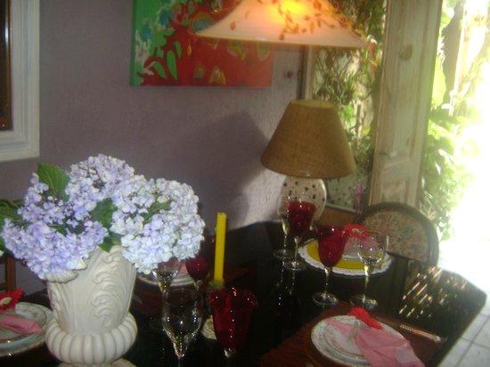 Pousada e Restaurante Vettore: sala de refeições