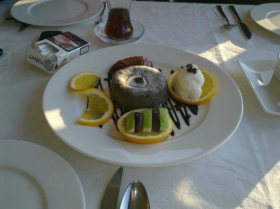 Kordon Yengec Restaurant: Божественный десерт