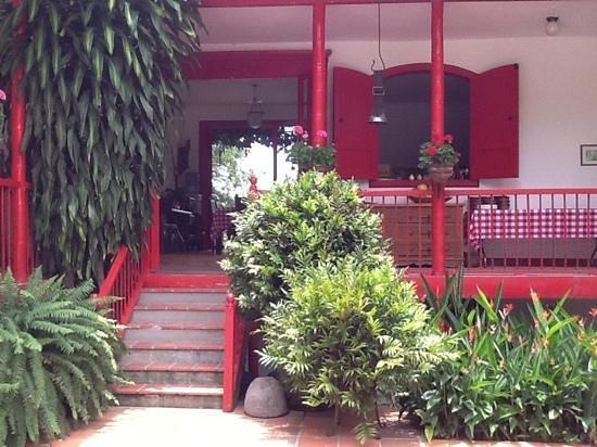 Hacienda Venecia Coffee Farm: Entrada de la Casa Principal