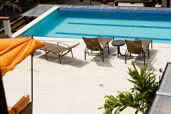 Hotel Ville La Plage: piscina climatizada