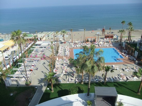 Hotel Riu Nautilus: View from room 410