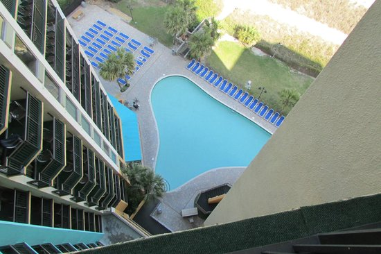 The Patricia Grand, Oceana Resorts: view of pool from room