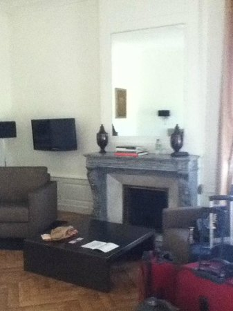 Hotel Particulier Poppa: Our living room
