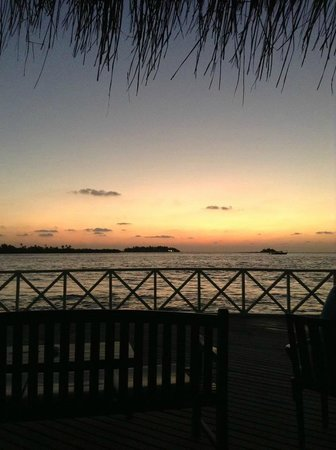 Cinnamon Dhonveli Maldives: View from the Sunet Bar
