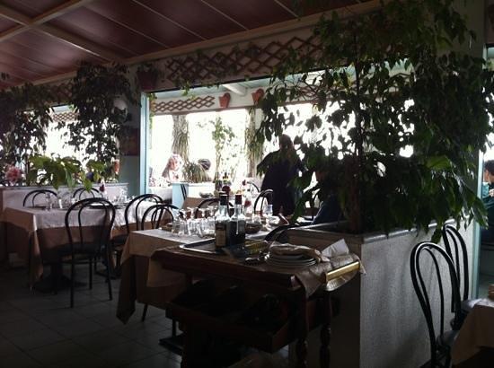 Punta Vagno: interior