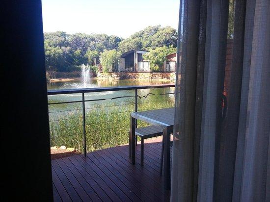 بولمان بونكر باي ريزورت مارجاريت ريفير: Veiw from living room balcony (same from bedroom balcony)