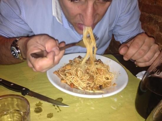 Osteria c'era una volta : spaghetti alla marinara
