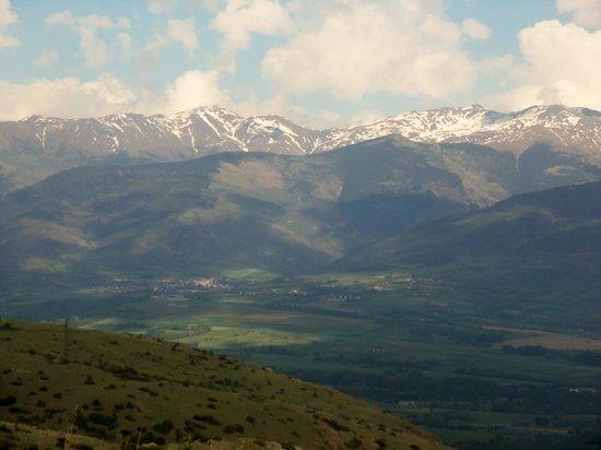 Disi Sioul : la montagne face au gite
