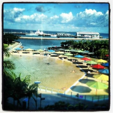 Adina Apartment Hotel Darwin Waterfront : view from room