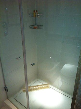 Continentale Firenze: doccia