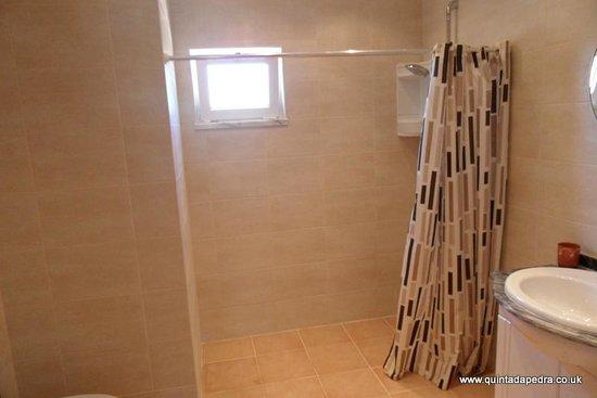 Quinta da Pedra B&B: Shower room