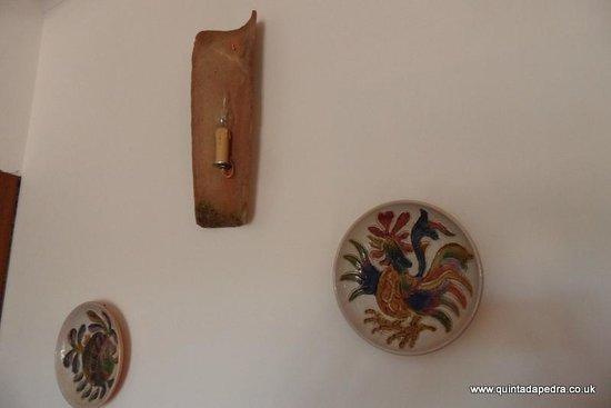 Quinta da Pedra B&B: Traditional decoration