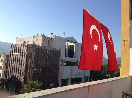 Efes Antik Hotel: 屋上のテラス
