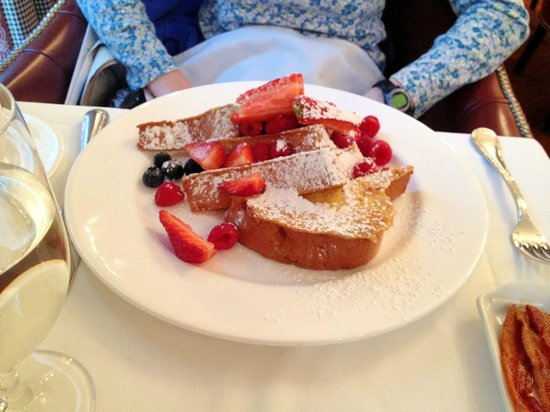 The Grille at Morrison House : Lemon brioche French toast