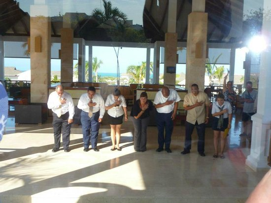 Royalton Cayo Santa Maria : Salutations au départ!