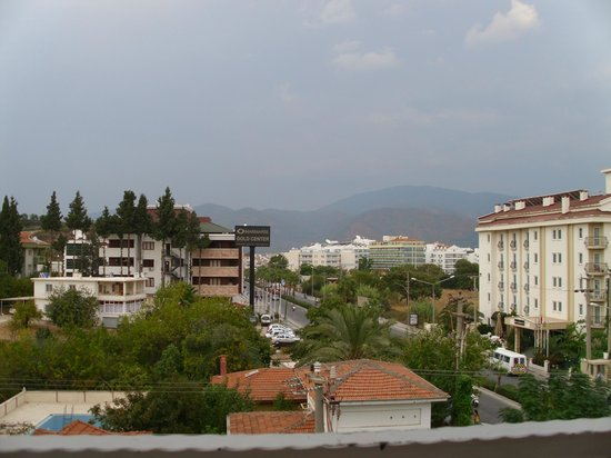 Seray Hotel: view from balcony