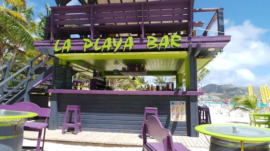 La Playa Orient Bay: La Playa Beach Bar