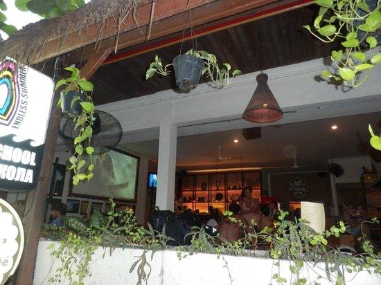 Surf Cafe - вид снаружи