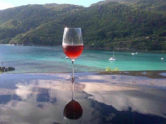 Constance Ephelia: Afternoon drink in our Hillside Villa - stunning views