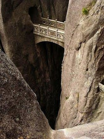 Guidong County, China: Fairy Bridge Chin