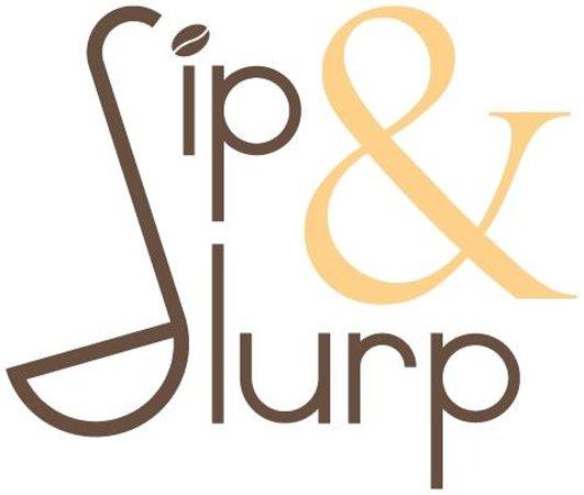 Sip & Slurp: Logo