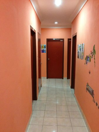 Borneo Gaya Lodge: walkway