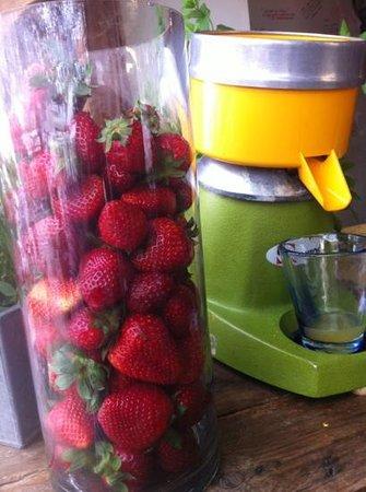 Fanneu: jus de fruits frais