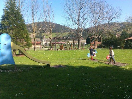 Casa Rural Jesuskoa: Garten