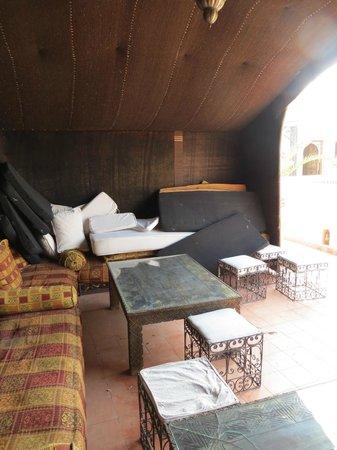 Riad Sofia: Berber tent