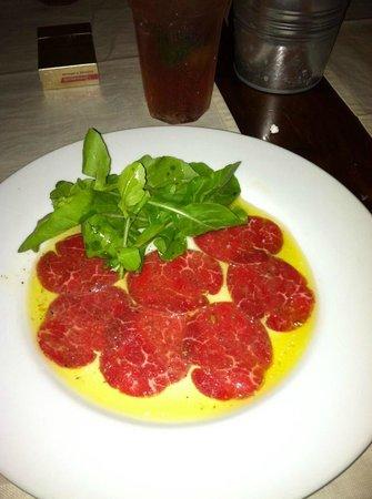 Cambusa Italian Restaurant: Beef carpaccio. The best EVER!